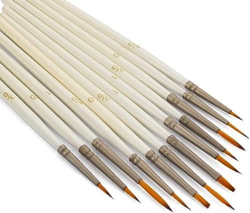Fivе Расk Princeton Artist Brush Grey Talla 4 Syn Bristle 6250Dg Dagger Striper