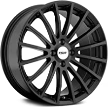 TSW MALLORY Black Wheel with Painted Finish (19 x 9.5 inches /5 x 4 inches, 40 mm Offset)