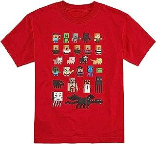 Minecraft Character - Camiseta