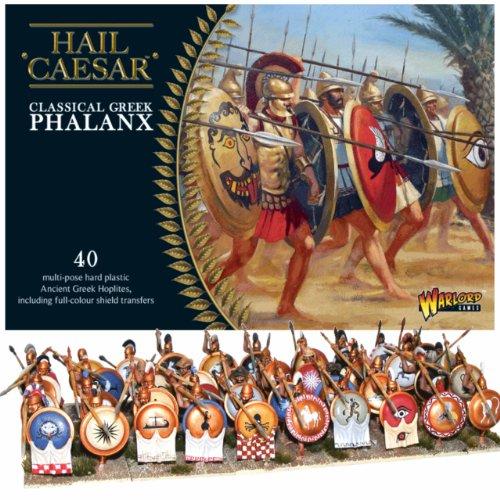 Pack Of 40 Classical Greek Phalanx Miniatures