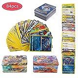 YNK 84 Piezas Pokemon Cartas Sun & Moon, Teamup, Tarjetas de Pokemon, Pokemon Trading...