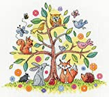 Karen Carter - Kit per punto croce, motivo: albero della vita