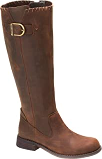 Best womens brown leather motorcycle boots Reviews