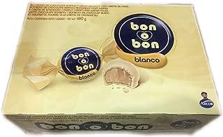 Bon O Bon White Chocolate Wafer and Peanut Cream Filling 16.9 Oz (480g) …