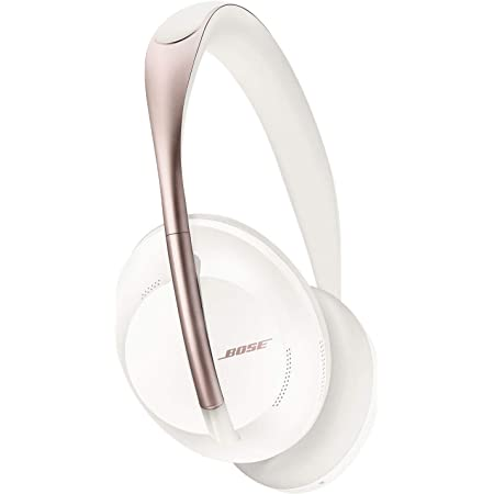 Bose Noise Cancelling Headphones 700 — Over Ear, Wireless Bluetooth Headphones with Built-In Microphone for Clear Calls & Alexa Voice Control, Arctic White