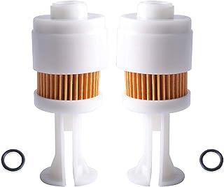 Poweka Fuel Filter for Yamaha 65L-24563-00-00 Suzuki 15412-93J00 Mercury Marine 35-888289T2 Johnson Evinrude OMC 5065695 S...