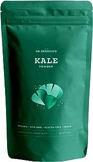 SB Organics Kale Powder - USDA Organic Antioxidant-Rich Superfood with Fiber, Vitamins and Minerals - 8 oz.