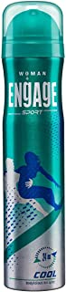Engage Sport Cool for Her, Deodorant for Women, 150ml / 165ml