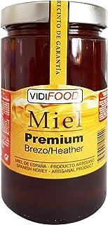 Miel de Brezo Premium - 1kg - Producida en España - Alta Calidad, tradicional & 100% pura - Aroma Intenso y Sabor Rico y Dulce - Amplia variedad de Deliciosos Sabores