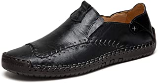 Chaussures décontractées pour Hommes Mocassins en Cuir Mocassins Mode de Conduite décontractée Mocassins Classiques Chauss...