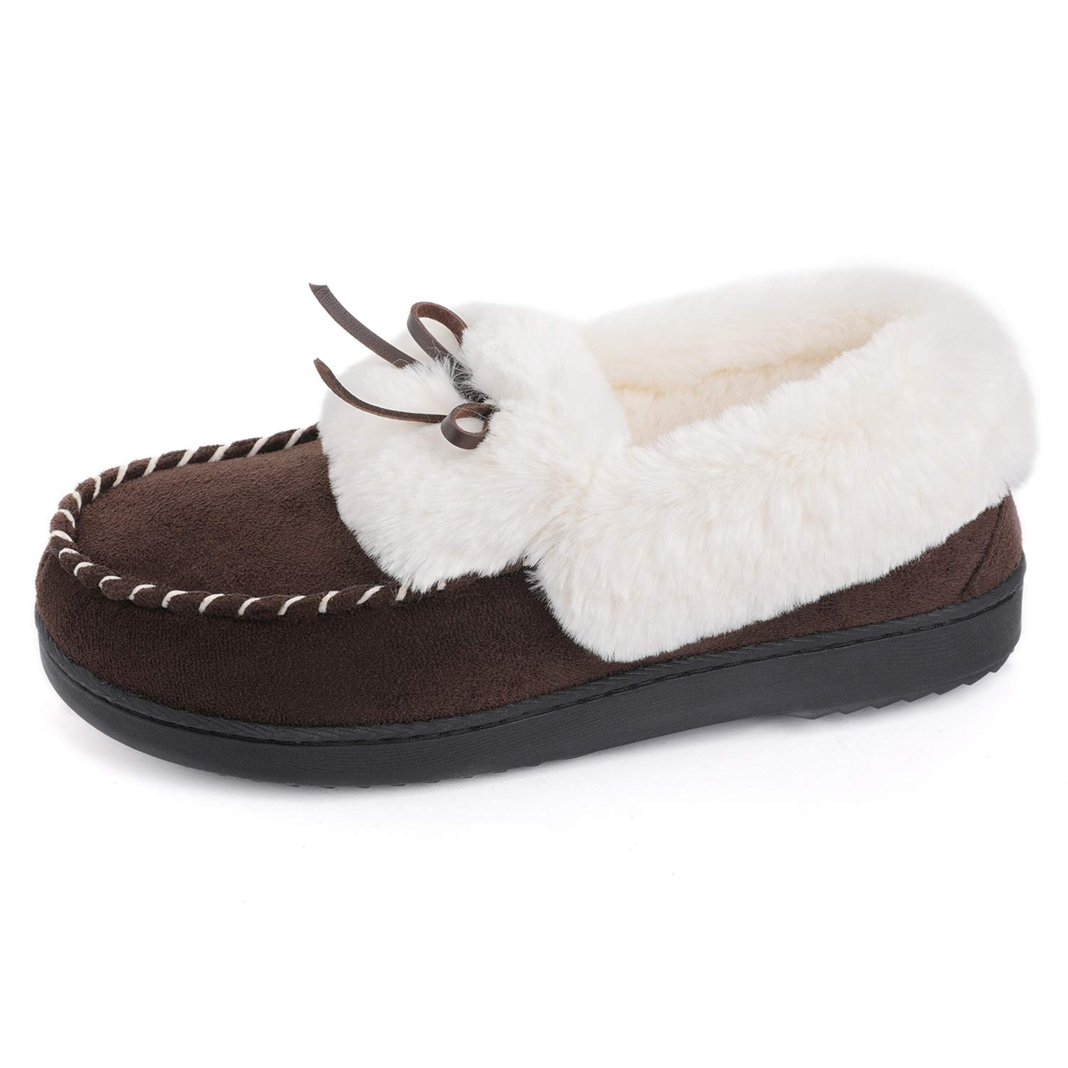 Image of Affordable Quality Moccasin Slippers for Women
