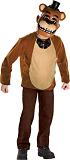 Rubie's Imagine Child's Five Nights at Freddy's Deluxe Freddy Dress Up Set, Large