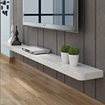 Liszh- TV Floating Shelf Wall-Mounted TV Cabinet TV Console Media Entertainment Game Console Storage Shelf Home Furniture...