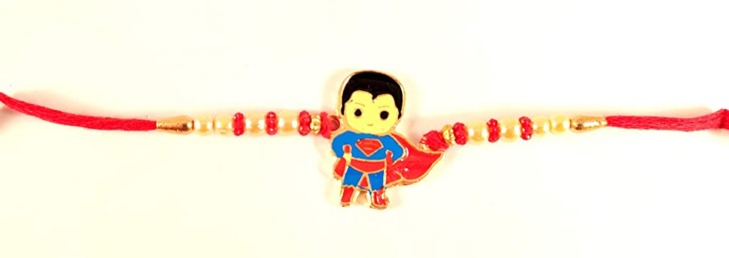 Sarvam Bracelet Kids Rakhi Raksha Bandhan Strands Bracelet Gift for Your Brother Indian Rakhi Rakshabandhan Festival