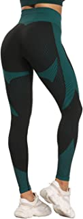 niyokki Womens Yoga Pants Butt Lifting High Waisted Seamless Leggins Tummy Control Scrunch Booty Tights for Athletic Workout