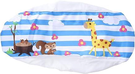 Vosarea エアコンカバー 防塵 可愛い 動物 室内 壁掛け エアコンダストカバー(キリン、リス)