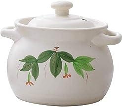 Praktisch Casserole gerechten klei braadpan pot terracotta stoofpot pot keramische braadpan klei koken pot - geen kraken, ...