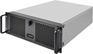 SilverStone Technology 4U Rackmount Server Chassis with 3 X 5.25 Front Bays with CEB/ATX/mATX/Mitx Support RM400 Cases SST-RM400