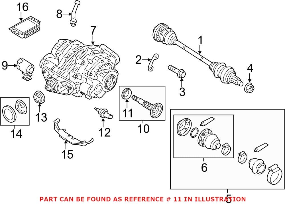 Genuine OEM Rear CV Axle Shaft Seal Drive For F15 E71 BMW F1 Super-cheap E70 Large special price !!