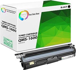 TCT Premium Compatible Toner Cartridge Replacement for QMS 1600 A0V301F Black Works with Konica Minolta Magicolor 1600 165...