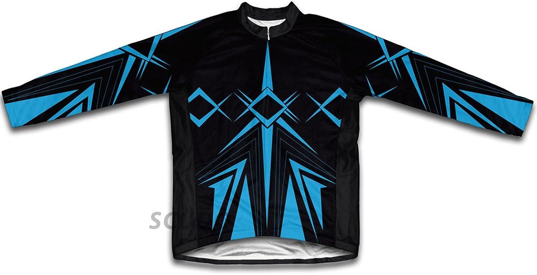 bluee Jet Long Sleeve Cycling Jersey for Women