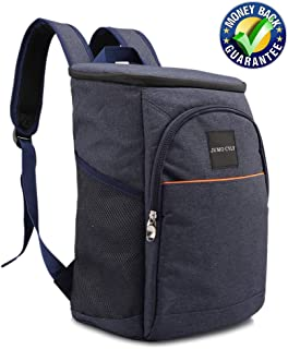 JUMO CYLY Leakproof Backpack Coolers- The Inner Thicken Insulation and Leakproof PEVA Liner Work Together to Keep Things Cold/hot for Hours, Anti-Leaking, Easy to Clean When not use