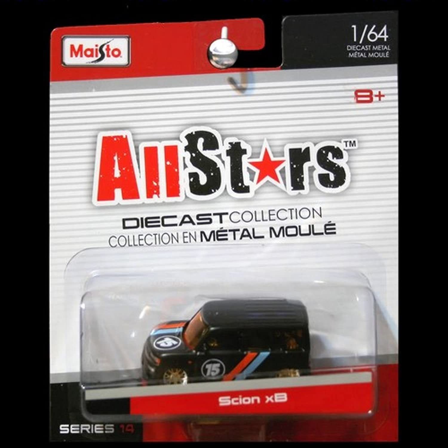 Maisto All Stars SPROSS XB Diecast Collectible 1 64denn