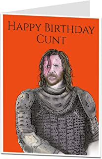Offensive Funny Happy Birthday Card For Men Him Rude Obscene Message Perfect For Brother Friend