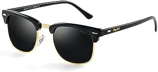 GREY JACK Classic Half Frame Sunglasses Fashion Eyeglasses for Men Women Ladies