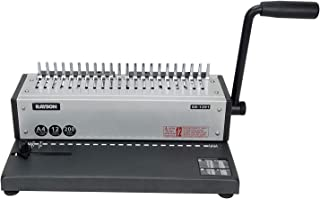 Rayson SD-1201 Binding Machine Punching and Binding with Combs Set - 21 Hole/ 200 Sheets Paper Comb Binder