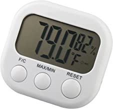 TRIXES Digital LCD Thermometer Temperature Weather Hygrometer Humidity Moisture
