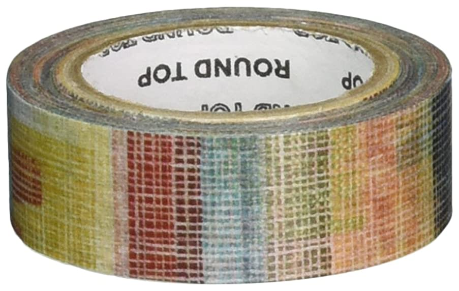 Roundtop Designer's Washi Masking Tape 20mm x 10m, Syoukei, Fabric (MTW-CH037)