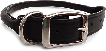 Auburn Leathercraft Rolled Collar | Amazon