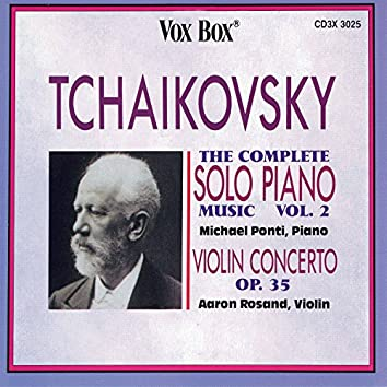 Tchaikovsky: Complete Solo Piano Music, Vol. 2