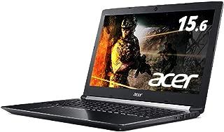 Acer ゲーミングノートパソコンA715-72G-F76H Core i7-8750H/16GB/256GB SSD+1TB HDD/GTX1050Ti/ドライブなし/15.6型/Windows 10