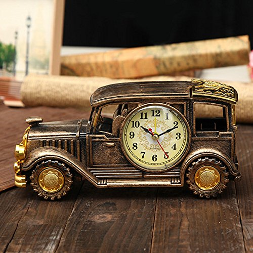 Bazaar Simulation Oldtimer Wecker Multifunktions Bleistift Vase Antique Car Model Kreative Decor