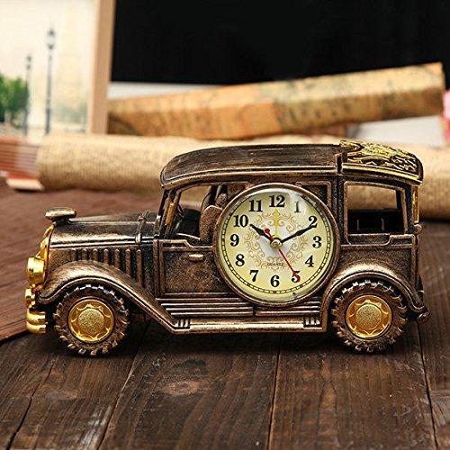 Bazaar Simulation Oldtimer Wecker Multifunktions Bleistift Vase Antique Car Model Kreative Decor
