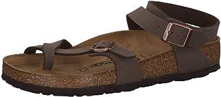 Birkenstock Yara, Women's Ankle-Strap, Brown (Nubuck Mocca Nubuck Mocca), 5 UK (38 EU)