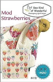 Sew Kind of Wonderful SKW416 QCR Mod Strawberries Pattern