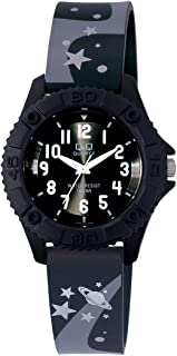 Q&Q Pixie Analog Black Dial Children's Watch VQ96J014Y