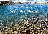 Fantastische Schweizer Bergwelt - Seen der Berge (Wandkalender 2022 DIN A3 quer): Die schoensten Bergseen der Zentral- und Ostschweiz (Monatskalender, 14 Seiten )