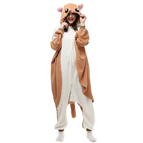 3f2bc5af40 Sayadress Lovely Animal Cosplay Halloween Costumes Pajamas for Unisex Adults