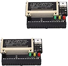 Ximimark 2Pcs Compact Flash CF Card to 3.5 Female 40 Pin IDE Hard Drive Bootable Adapter Converter Module