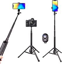 Selfie Stick Tripod Bluetooth, LATZZ 54 Inch Phone Tripod Selfie, Extendable iPhone Stand Tripod with Wireless Remote Shutter Compatible iPhone Xs MAX/XR/X/8/8P/7/7P/6/6P/Galaxy Note 8/S9+/S9, More