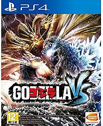 PS4 GODZILLA-VS Asian version Japanese subtitle & voice (輸入版)