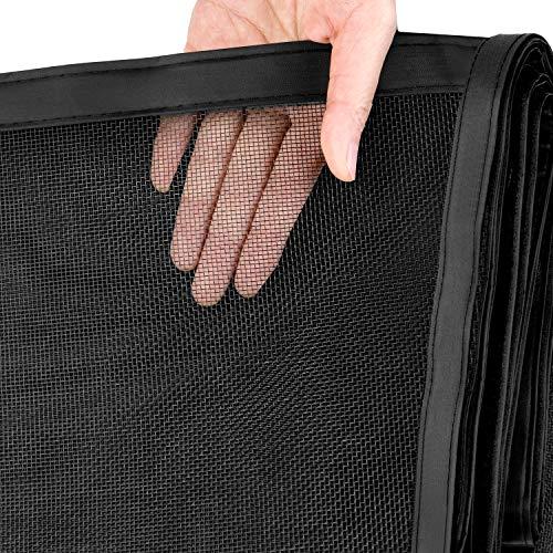JOYPEA Magnetic Screen Door 36'x96' with Durable Fiberglass Mesh...