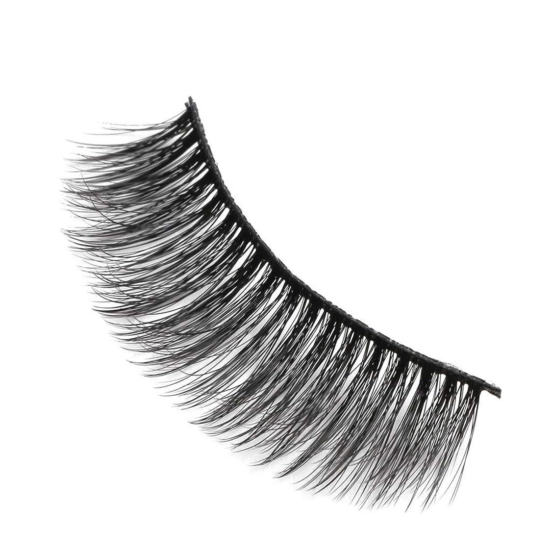 物理的に特定の傑作柔らかい長い巻き毛と歪んだ多くの層まつげと3Dミンクの毛皮の10ペア