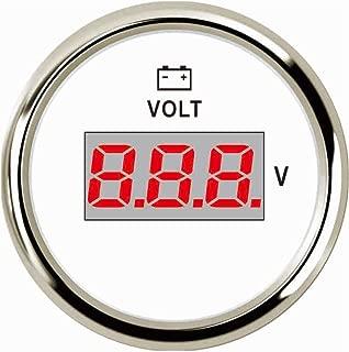 SAMDO 52MM Universal Voltmeter Car Boat Digital Voltage Gauge 9-32V 2
