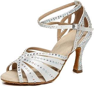 6.5 cm Genil Red Werner Kern Ladies Dance Shoes Betty 6.5/_Gr