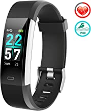 FITFORT Fitness Tracker Color Screen - 2019 Upgraded IP68 Activity Tracker Watch for Women with Heart Rate Monitor, Step Counter, Calorie Counter, Pedometer Watch with 14 Sports Modes for Men Kids